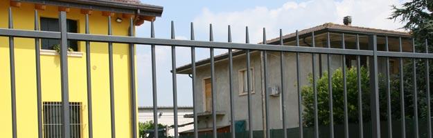 Carpenteria panato recinzione modello futura for Serie futura cancelli